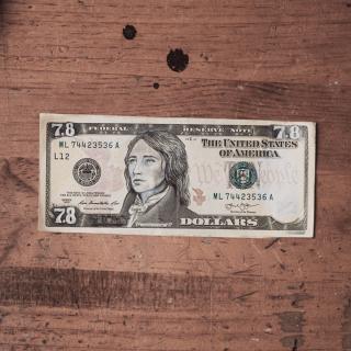 PSA dollar bill
