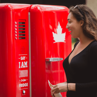 Molson Global Beer Fridge