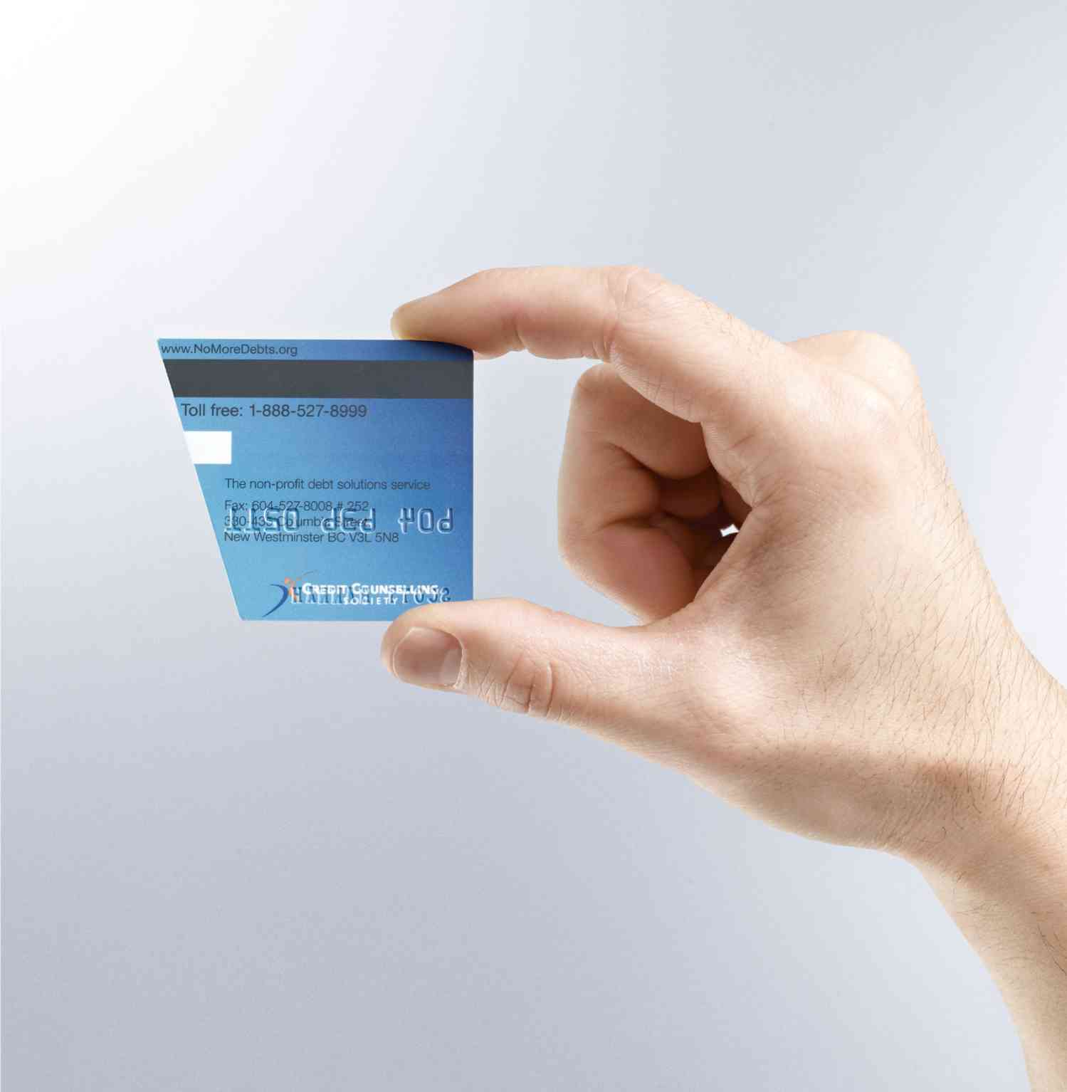 Credit Counseling Society Business Card 2