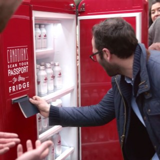 Molson Beer Fridge