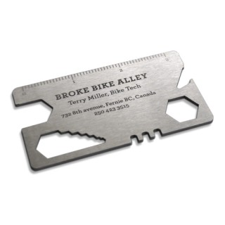 bike tool business card