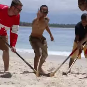 Beach hockey