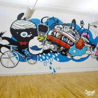 T.O. Office Mural