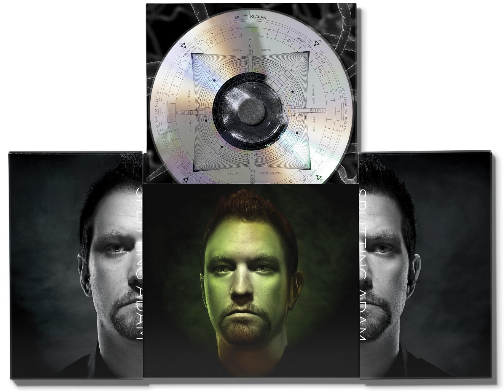 Splitting Adam album packaging