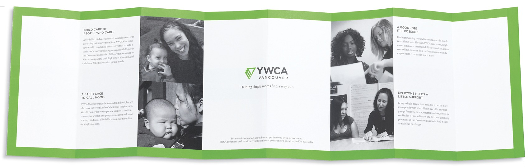 YWCA brochure