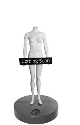 Coming soon mannequin