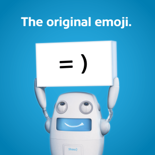 Shaw wifi - the original emoji
