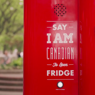 Molson Canadian Global Beer Fridge