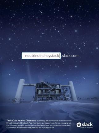 Slack Neutrino poster