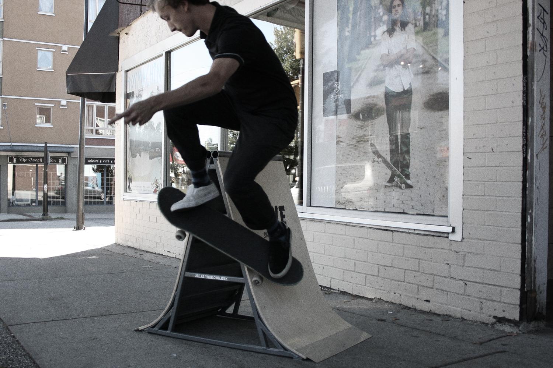 Skateable Sandwich Board - Rethink Canada